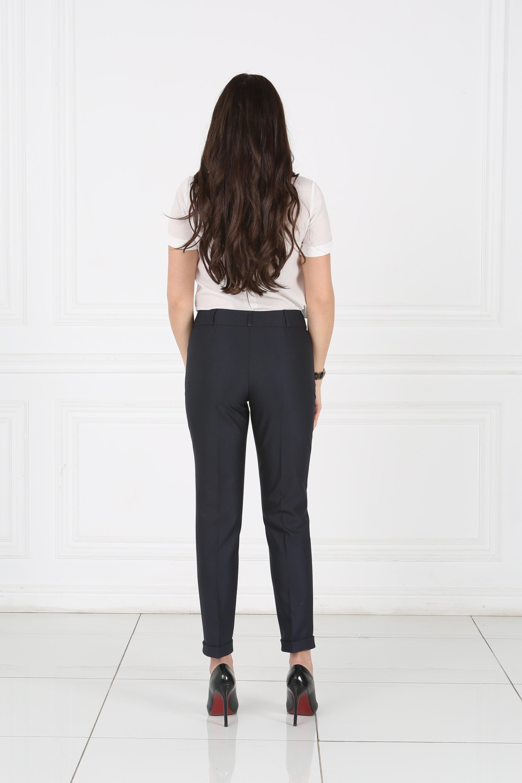Купить синие брюки женские